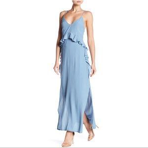 Elliatt Baby Blue Rapture Maxi Dress NWT Small